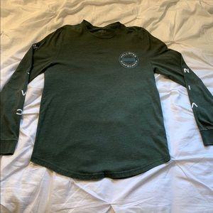 Hollister California Green Long Sleeve Shirt